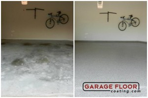 Garage Floor Coating Epoxy Garage Floor System - Residential - Before & After (10)