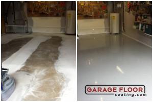 Garage Floor Coating Epoxy Garage Floor System - Residential - Before & After (102)
