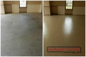 Garage Floor Coating Epoxy Garage Floor System - Residential - Before & After (103)