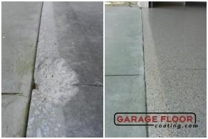 Garage Floor Coating Epoxy Garage Floor System - Residential - Before & After (104)