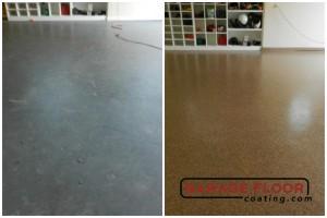 Garage Floor Coating Epoxy Garage Floor System - Residential - Before & After (105)