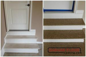 Garage Floor Coating Epoxy Garage Floor System - Residential - Before & After (12)