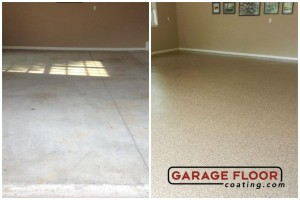 Garage Floor Coating Epoxy Garage Floor System - Residential - Before & After (14)
