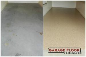 Garage Floor Coating Epoxy Garage Floor System - Residential - Before & After (16)