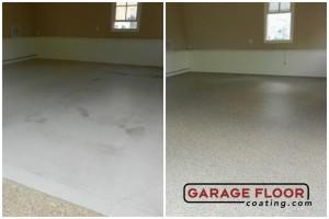 Garage Floor Coating Epoxy Garage Floor System - Residential - Before & After (18)