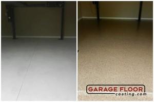 Garage Floor Coating Epoxy Garage Floor System - Residential - Before & After (19)