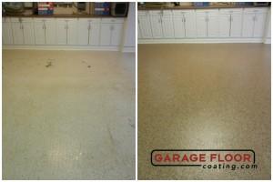 Garage Floor Coating Epoxy Garage Floor System - Residential - Before & After (20)