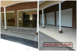 Garage Floor Coating Epoxy Garage Floor System - Residential - Before & After (22)