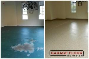 Garage Floor Coating Epoxy Garage Floor System - Residential - Before & After (23)