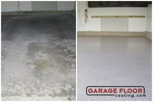 Garage Floor Coating Epoxy Garage Floor System - Residential - Before & After (25)