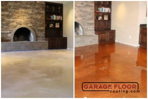 Garage Floor Coating Epoxy Garage Floor System - Residential - Before & After (27)