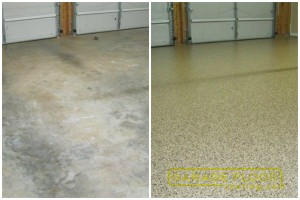 Garage Floor Coating Epoxy Garage Floor System - Residential - Before & After (30)