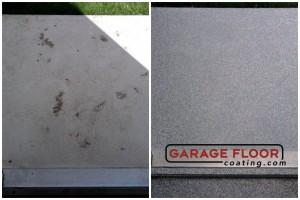 Garage Floor Coating Epoxy Garage Floor System - Residential - Before & After (33)