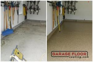 Garage Floor Coating Epoxy Garage Floor System - Residential - Before & After (35)