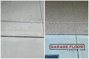 Garage Floor Coating Epoxy Garage Floor System - Residential - Before & After (36)