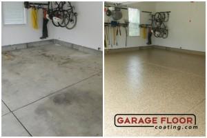 Garage Floor Coating Epoxy Garage Floor System - Residential - Before & After (39)