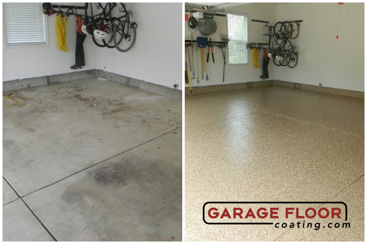 Garage Floor Coating Epoxy System Residential
