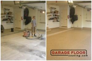 Garage Floor Coating Epoxy Garage Floor System - Residential - Before & After (41)