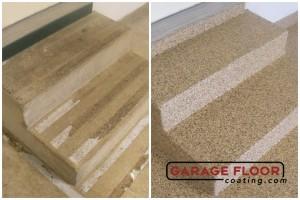 Garage Floor Coating Epoxy Garage Floor System - Residential - Before & After (42)