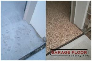 Garage Floor Coating Epoxy Garage Floor System - Residential - Before & After (44)