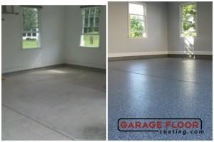 Garage Floor Coating Epoxy Garage Floor System - Residential - Before & After (45)