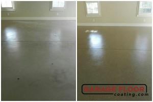 Garage Floor Coating Epoxy Garage Floor System - Residential - Before & After (5)