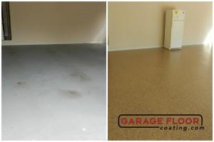 Garage Floor Coating Epoxy Garage Floor System - Residential - Before & After (50)