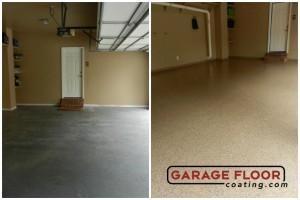 Garage Floor Coating Epoxy Garage Floor System - Residential - Before & After (52)