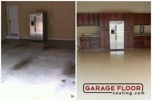 Garage Floor Coating Epoxy Garage Floor System - Residential - Before & After (53)