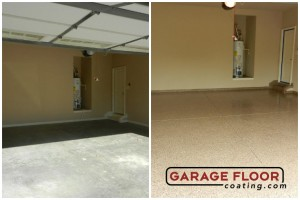Garage Floor Coating Epoxy Garage Floor System - Residential - Before & After (57)