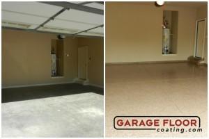 Garage Floor Coating Epoxy Garage Floor System - Residential - Before & After (6)