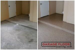 Garage Floor Coating Epoxy Garage Floor System - Residential - Before & After (60)