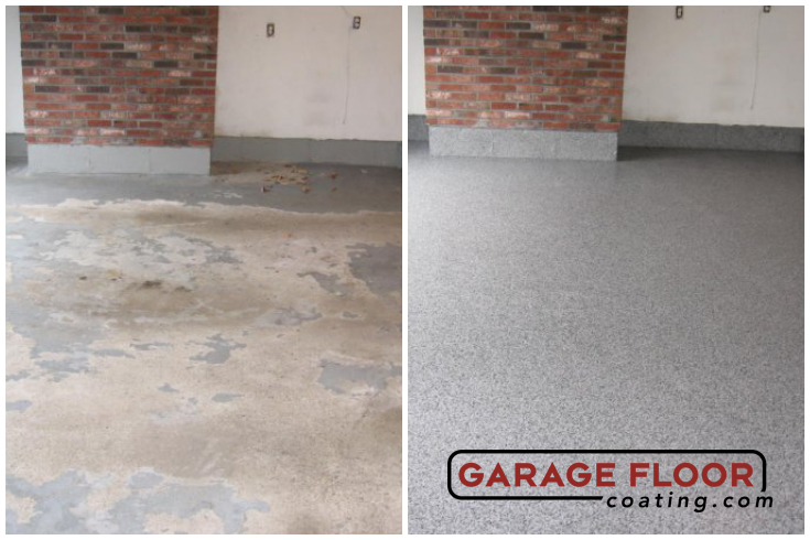 Garage Floor Epoxy Before And After Images