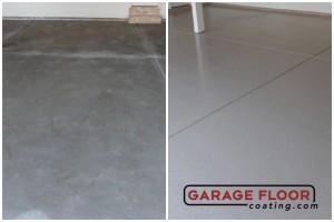 Garage Floor Coating Epoxy Garage Floor System - Residential - Before & After (63)