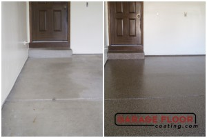 Garage Floor Coating Epoxy Garage Floor System - Residential - Before & After (64)
