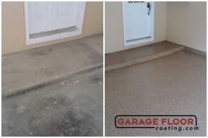 Garage Floor Coating Epoxy Garage Floor System - Residential - Before & After (65)