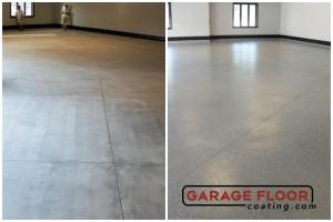Garage Floor Coating Epoxy Garage Floor System - Residential - Before & After (66)