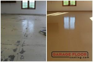 Garage Floor Coating Epoxy Garage Floor System - Residential - Before & After (68)
