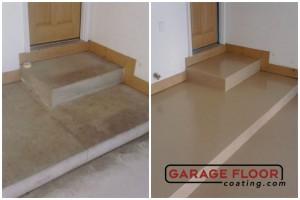 Garage Floor Coating Epoxy Garage Floor System - Residential - Before & After (69)