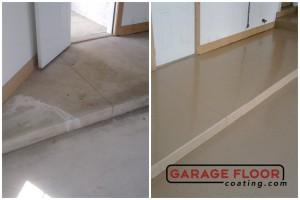 Garage Floor Coating Epoxy Garage Floor System - Residential - Before & After (70)
