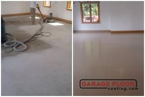 Garage Floor Coating Epoxy Garage Floor System - Residential - Before & After (71)