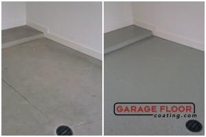 Garage Floor Coating Epoxy Garage Floor System - Residential - Before & After (72)