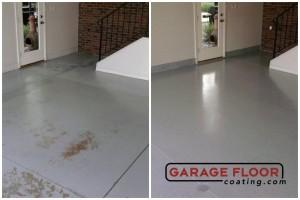 Garage Floor Coating Epoxy Garage Floor System - Residential - Before & After (74)