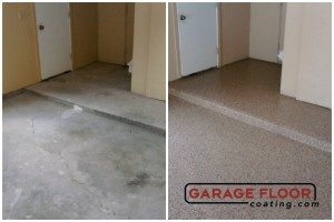 Garage Floor Coating Epoxy Garage Floor System - Residential - Before & After (75)