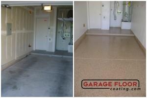 Garage Floor Coating Epoxy Garage Floor System - Residential - Before & After (76)