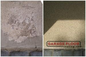 Garage Floor Coating Epoxy Garage Floor System - Residential - Before & After (77)