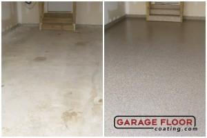 Garage Floor Coating Epoxy Garage Floor System - Residential - Before & After (79)