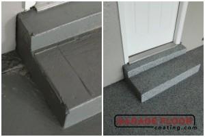 Garage Floor Coating Epoxy Garage Floor System - Residential - Before & After (81)