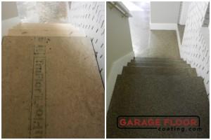 Garage Floor Coating Epoxy Garage Floor System - Residential - Before & After (82)