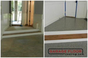 Garage Floor Coating Epoxy Garage Floor System - Residential - Before & After (84)